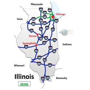 Illinois to Arizona Freight Shipping Quotes and Trucking Rates