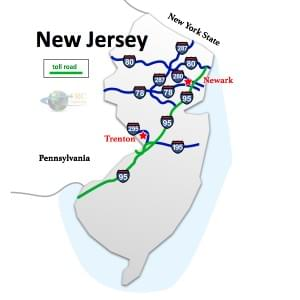 New Jersey to Pennsylvania Freight Shipping Rates