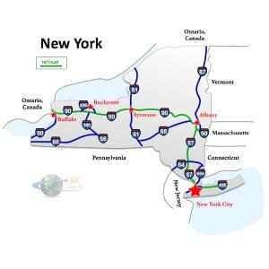 New York to Louisiana Freight Shipping Quotes and Rates