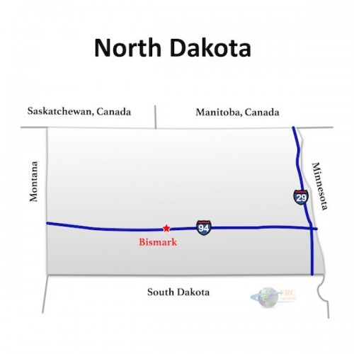 North Dakota to North Carolina Trucking Rates