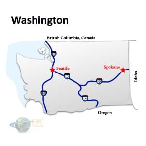 Washington to California Freight Shipping Quotes & Trucking Rates