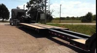 Stretch single drop deck has been displayed showing its capability to load certain dimensions freight