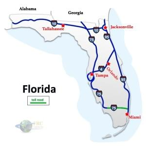 Florida to North Carolina Freight Shipping Rates