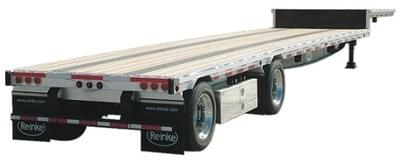 Step deck Trailer - Step Deck Flatbed Trailer