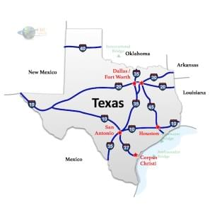 Alabama to Texas Freight Shipping Quotes & Trucking Rates