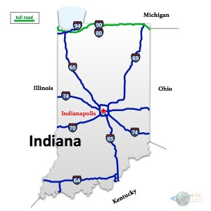 Indiana to Montana Trucking Rates